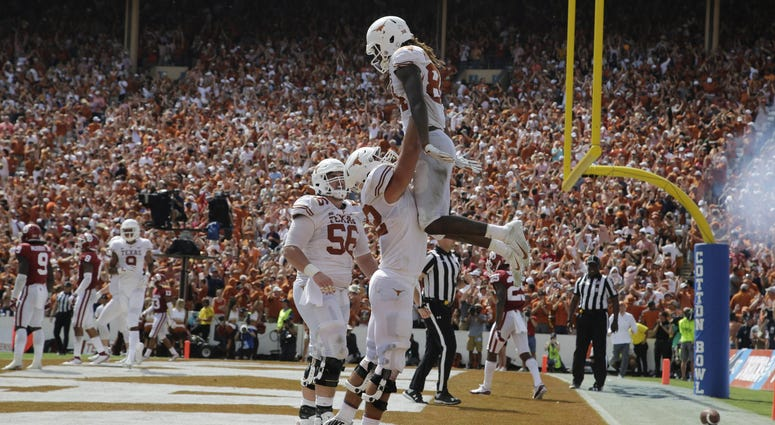 Texas at Oklahoma