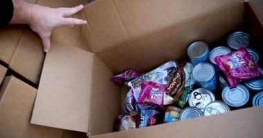 emergency food supplies