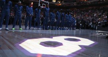 Dallas Mavericks honor the memory of Kobe Bryant