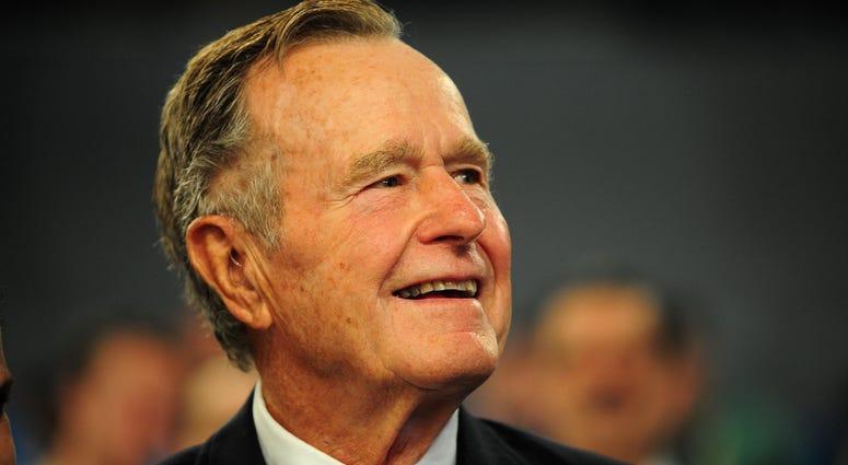 United States former President George H.W. Bush