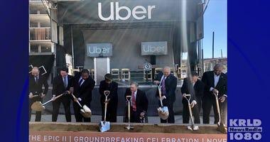 Uber Groundbreaking.