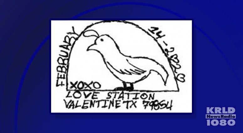 Valentine Texas Postmark