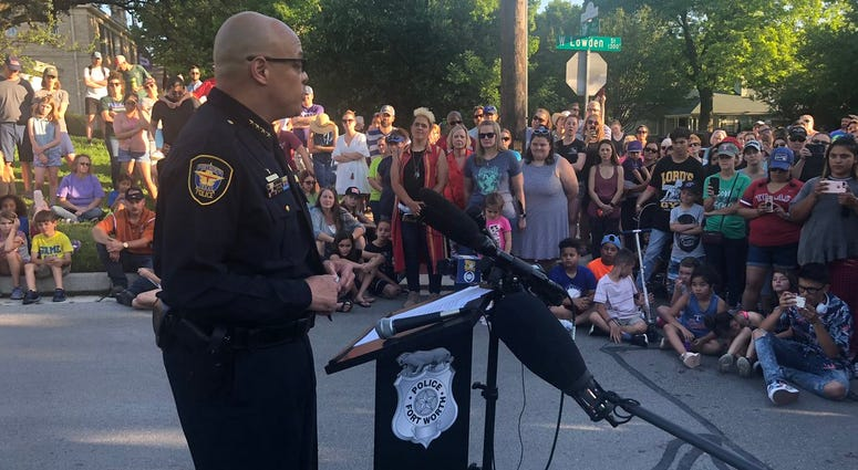 Fort Worth Police Press Conference