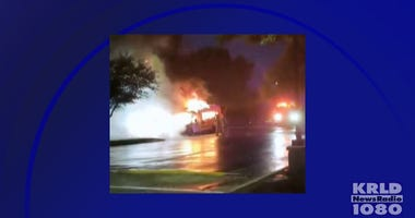 Coppell Bus Fire
