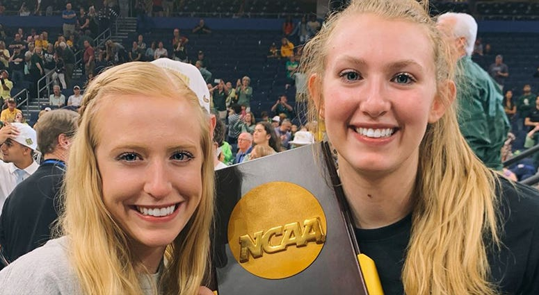 Whitney Cox and sister Lauren Cox