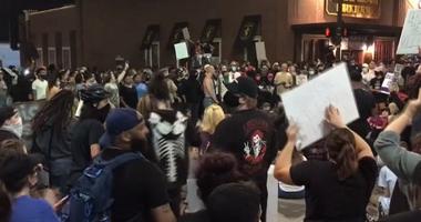 Denton Protest