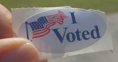 Vote Sticker, Election Day