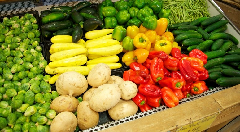 Fresh Food, Vegetables,