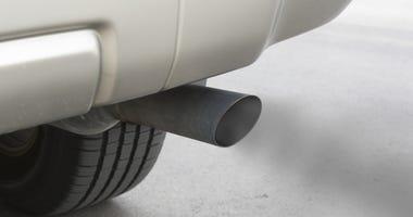 Car emissions, exhaust