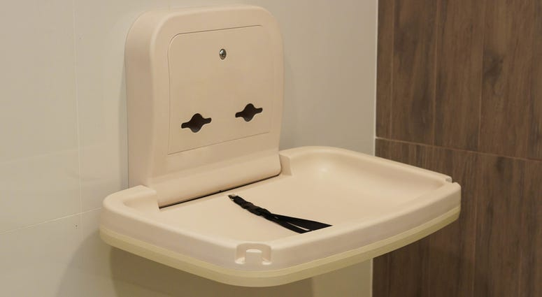 diaper changing table