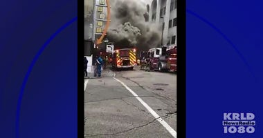 Downtown Dallas Fire