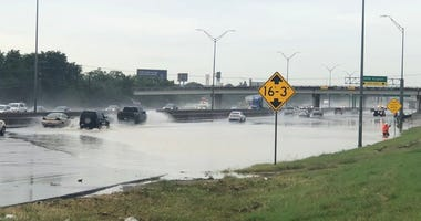 Flooding on Hwy 183