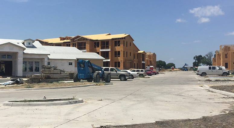 Garland Apartment Complex Being Rebuilt