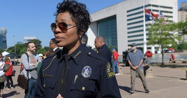 Dallas Police Chief Renee Hall