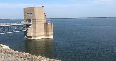 Lewisville Lake Dam