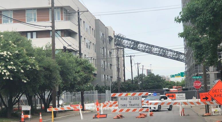 Dallas Crane Collapse