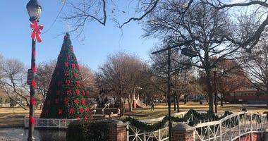 Plano Christmas tree