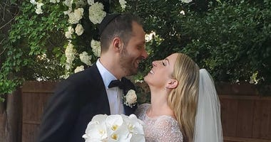 Nurse Marries Fiancé in Remission From Cancer After Months Apart Due to COVID-19
