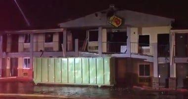 Addison Motel Fire