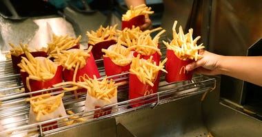 McDonald's Will Give Away Free Fries on Monday for National French Fry Day