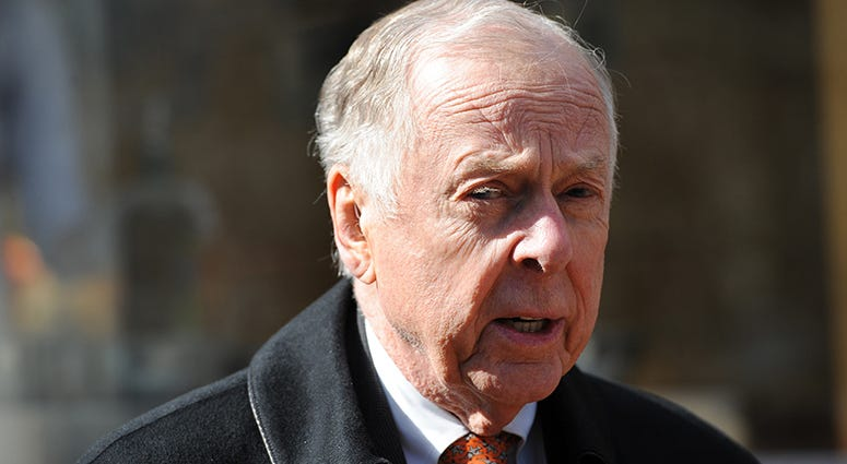 Business magnate T. Boone Pickens