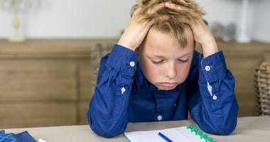 Child Struggles With Homework