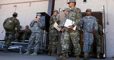 Arizona National Guard soldiers