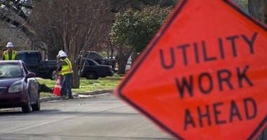Atmos Energy Crews Make Repairs