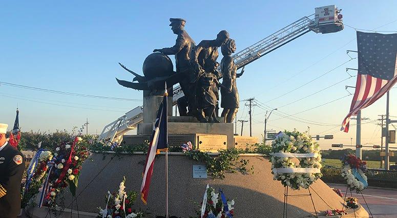 9/11 Flight Crew Memorial in Grapevine