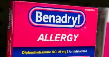 Benadryl allergy over-the-counter medicine