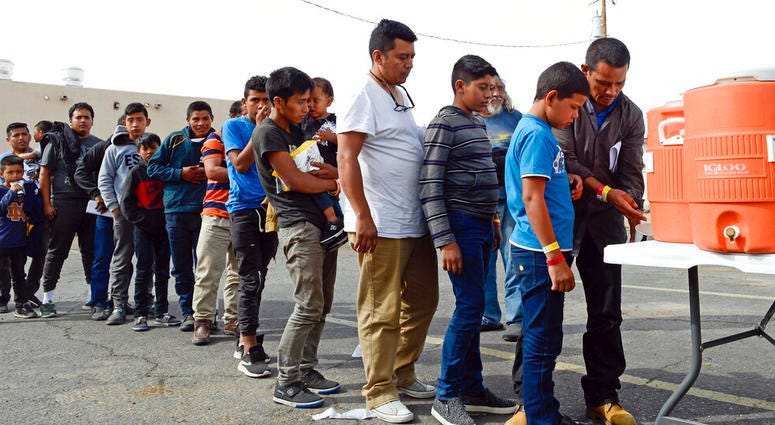 Migrants Dropped In New Mexico