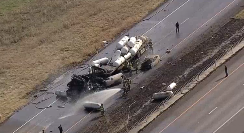 Deadly I-35W Crash Near Denton