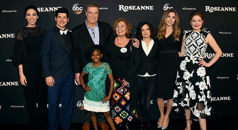 """The cast of  """"Roseanne"""""""