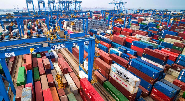 China Shipping yard