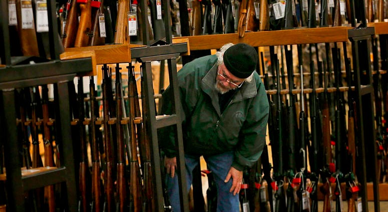 Gun background checks are on pace to break record