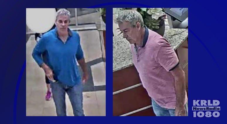 Colleyville Theft Suspect