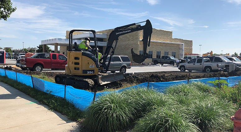 DFW Airport construction