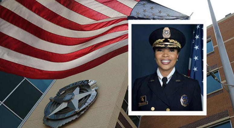 Dallas Police Chief Renee Hall