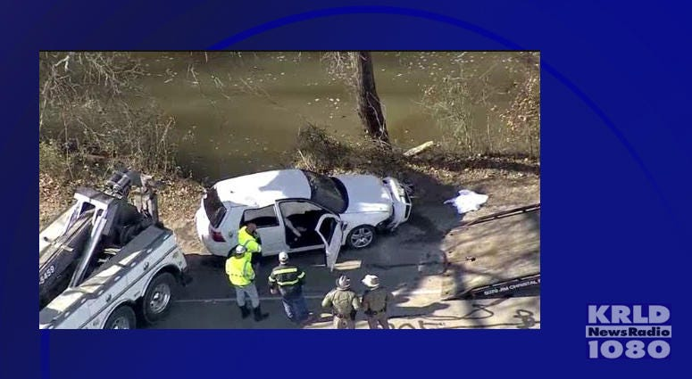 Car Found In Denton Creek