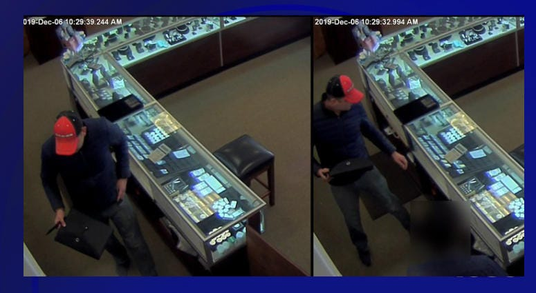 Southlake Jewelry Store Robbery Suspect