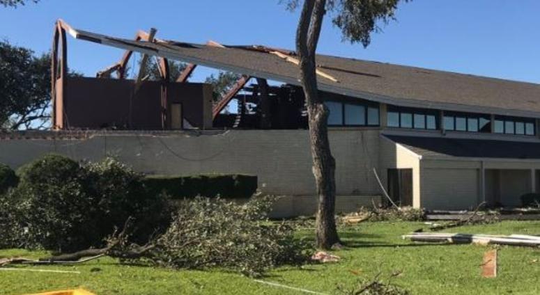 tornado damage dallas