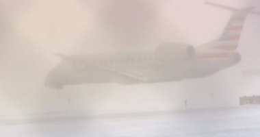 American Airlines Plane Slides Off Runway