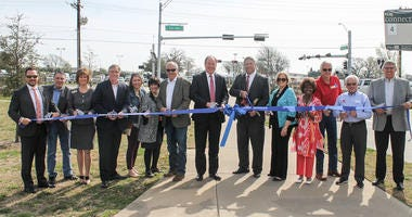 Ribbon Cutting for FM 2499