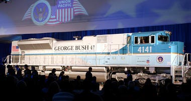 President Bush Funeral Train
