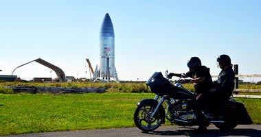 SpaceX prototype Starship hopper