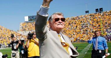 former Iowa football coach Hayden Fry