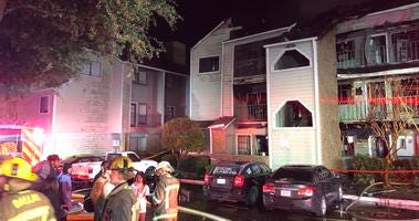 Dallas Condo Fire