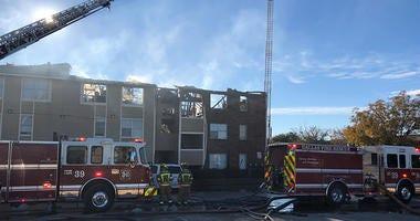 Dallas Apartment Fire