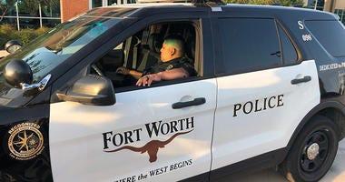 Fort Worth Police Officer Xavier Serrano