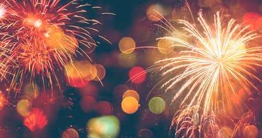 Fireworks Celebration, Happy New Year